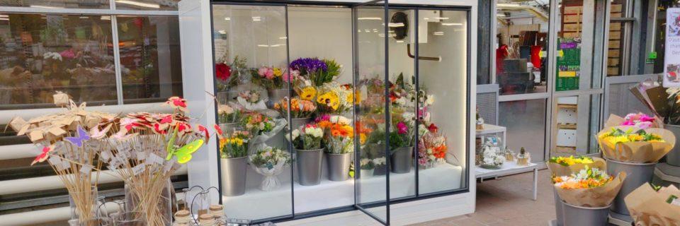 Les fleurs en Libre-Service